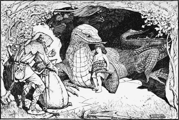 lizard-godmother