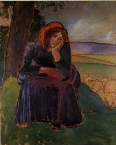 Grieving Shepherdess