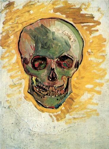 Skull in the Window
