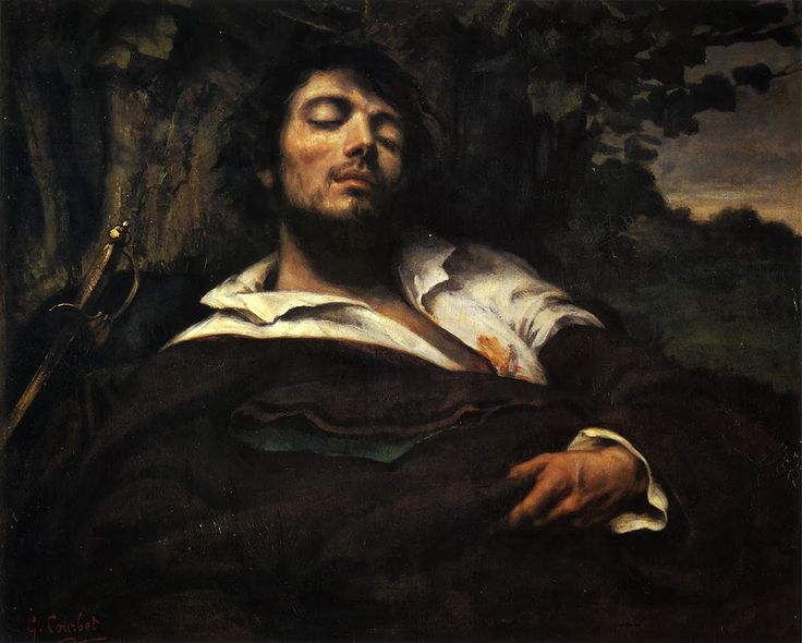 wounded man