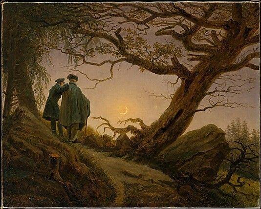men on path