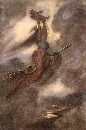 Witch in a Golden Cloak