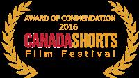 Canada shorts AWARD gold laurel sm