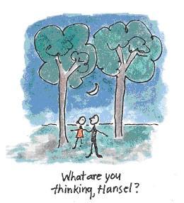 hansel gretel by tree